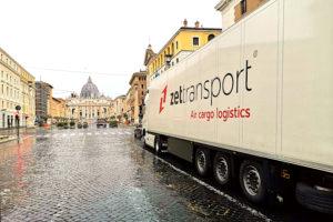 ZET Transport dostawa do Watykanu