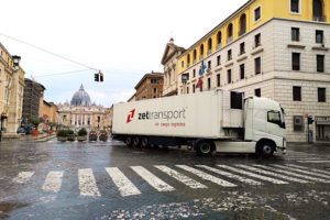 ZET Transport delivered to Vatican